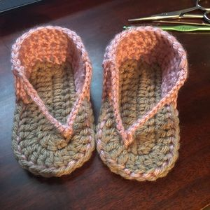 Other - Crochet baby sandals